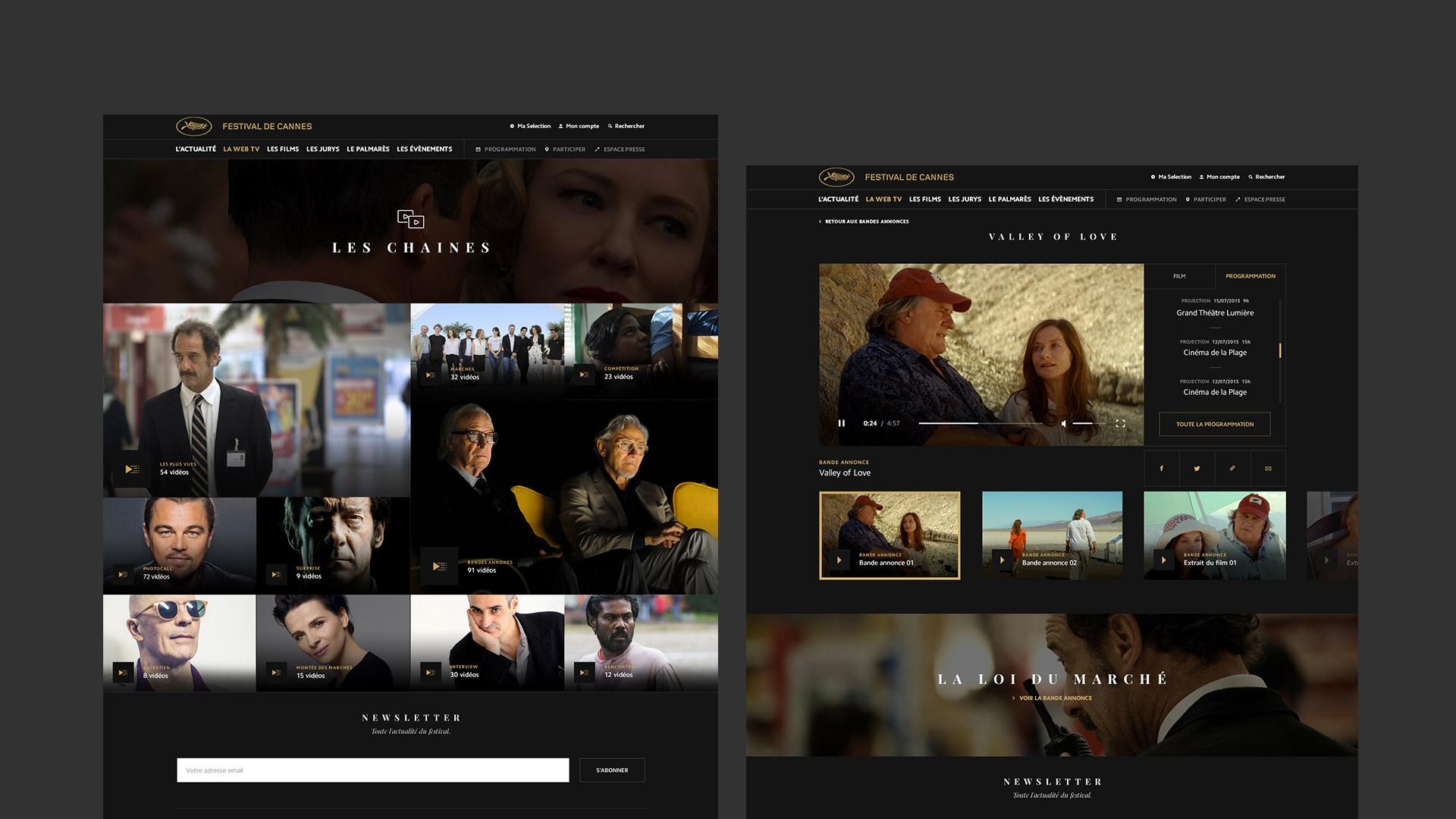 festival de cannes web tv